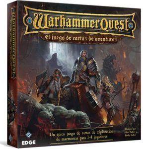 HF Warhammer Quest Juego de Cartas