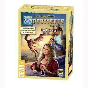 Carcassonne La Princesa y el Dragón 2
