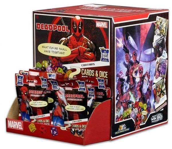 Dice Masters Marvel Deadpool Booster