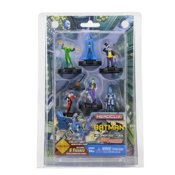 Heroclix DC Batman and his Greatest Foes-Fast Forces