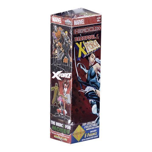 Heroclix Marvel Deadpool and X-Force Booster