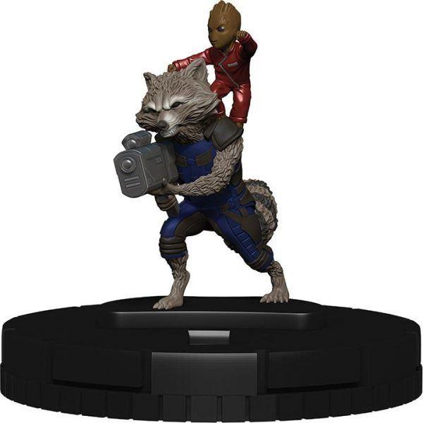 Heroclix Marvel Guardians of the Galaxy Vol 2 010 Rocket Groot