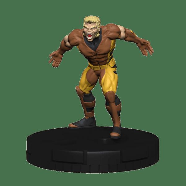 Heroclix Marvel Uncanny X-Men 038 Sabretooth