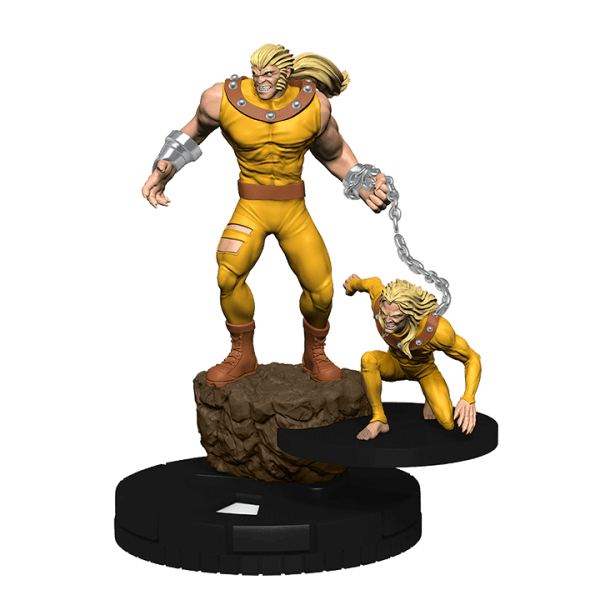 Heroclix Marvel Uncanny X-Men 063 Sabretooth and Wildchild