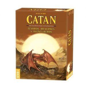 Catan Dragones tesoros y aventureros