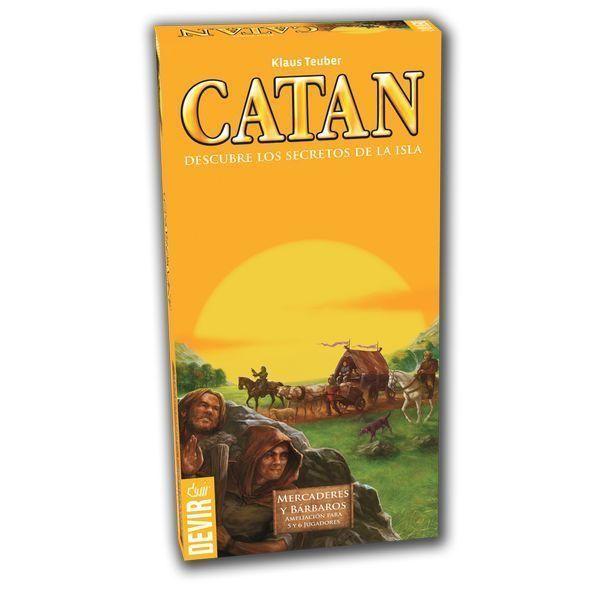 Catan Mercaderes y Bárbaros 5 - 6 Jugadores