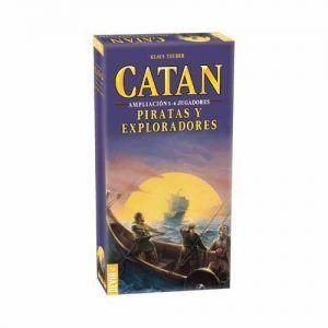 Catan Piratas y Exploradores 5 - 6 Jugadores