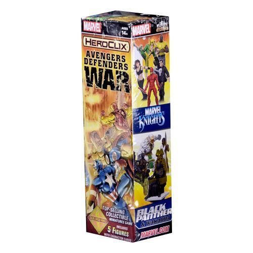 Heroclix Marvel Avengers Defenders War Booster