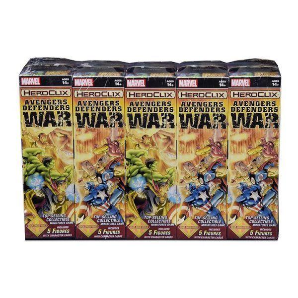Heroclix Marvel Avengers Defenders War Brick