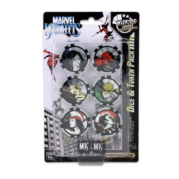 Heroclix Marvel Avengers Defenders War Dice and Token Pack
