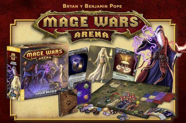Mage Wars Arena Contenido