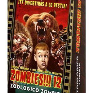 ZOMBIES!!! 12 Zoológico Zombie