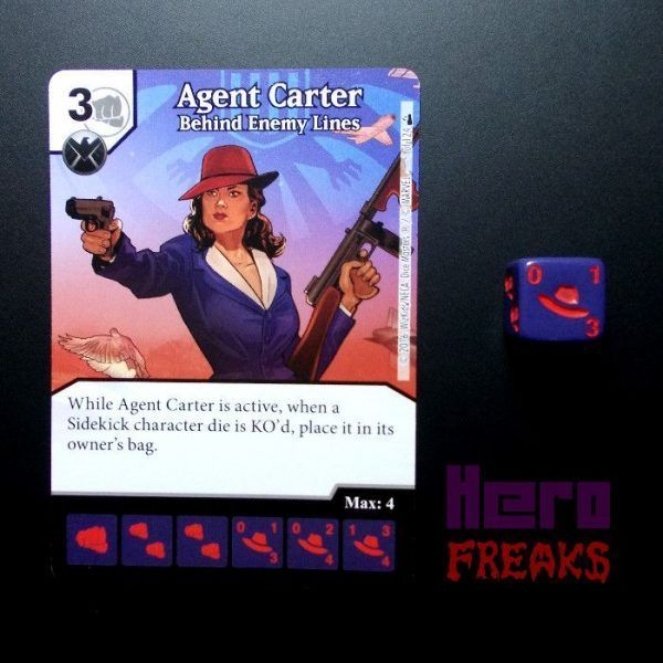 Dice Masters Marvel Deadpool - 001 Agent Carter (C)