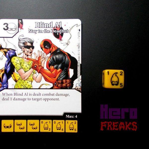 Dice Masters Marvel Deadpool - 007 Blind Al (C)