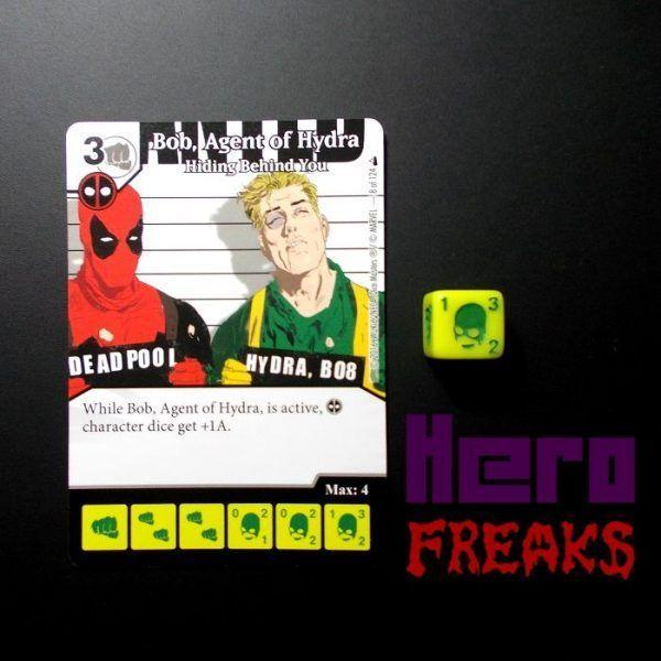 Dice Masters Marvel Deadpool - 008 Bob Agent of Hydra (C)