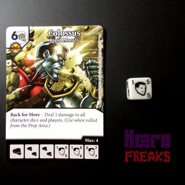 Dice Masters Marvel Deadpool - 009 Colossus (C)