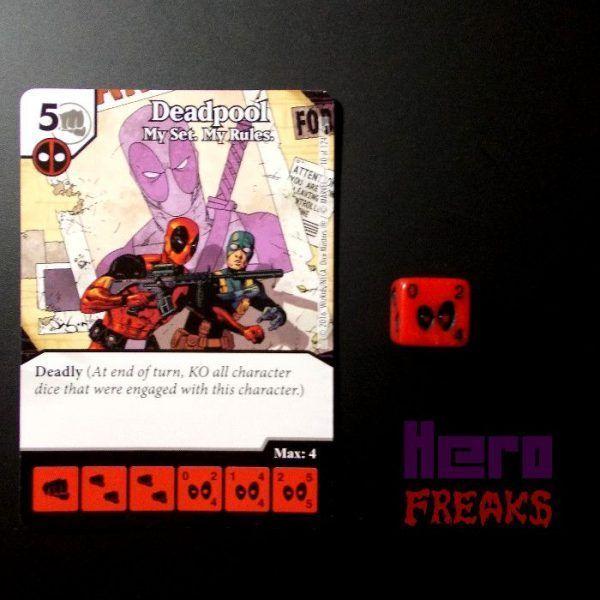 Dice Masters Marvel Deadpool - 010 Deadpool (C)
