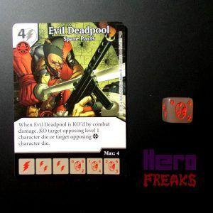 Dice Masters Marvel Deadpool - 014 Evil Deadpool (C)