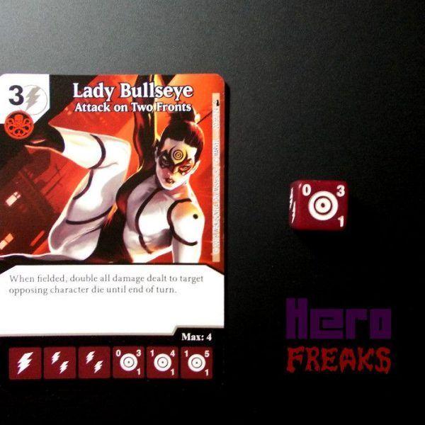 Dice Masters Marvel Deadpool - 020 Lady Bullseye (C)