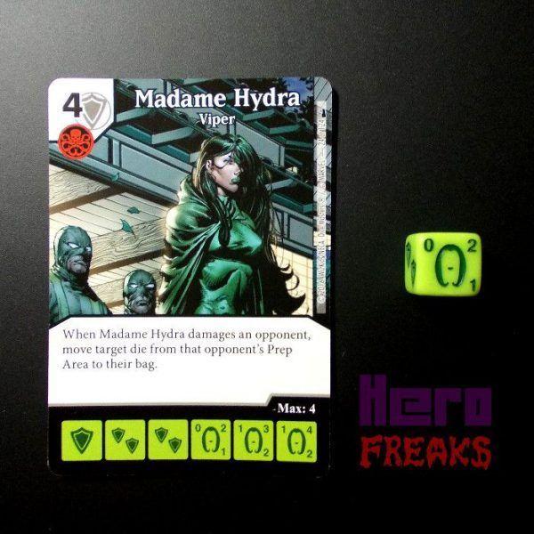 Dice Masters Marvel Deadpool - 024 Madame Hydra (C)