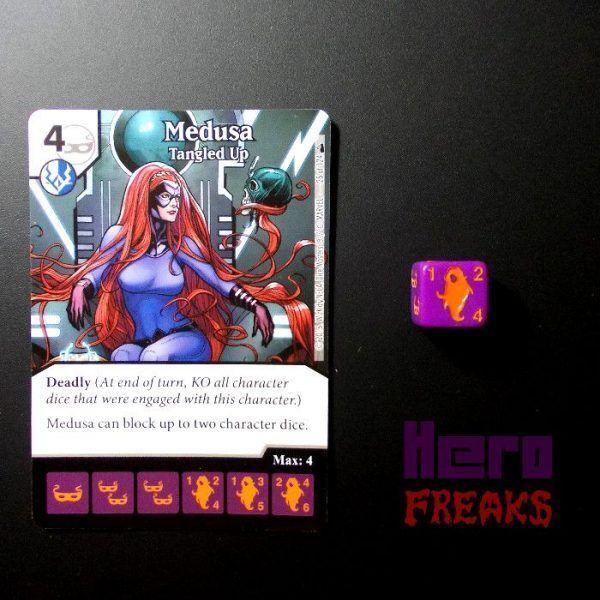 Dice Masters Marvel Deadpool - 025 Medusa (C)