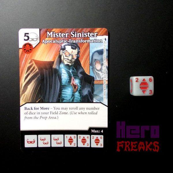 Dice Masters Marvel Deadpool - 027 Mister Sinister (C)