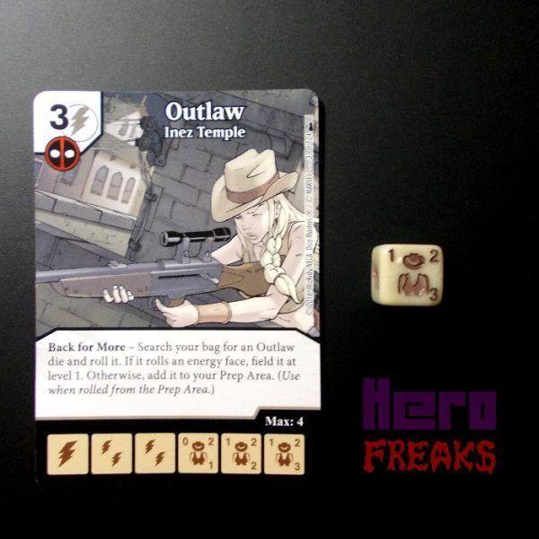 Dice Masters Marvel Deadpool - 031 Outlaw (C)