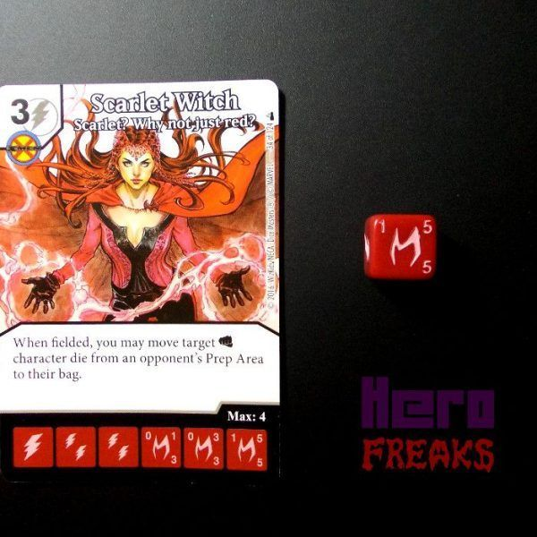 Dice Masters Marvel Deadpool - 034 Scarlet Witch (C)
