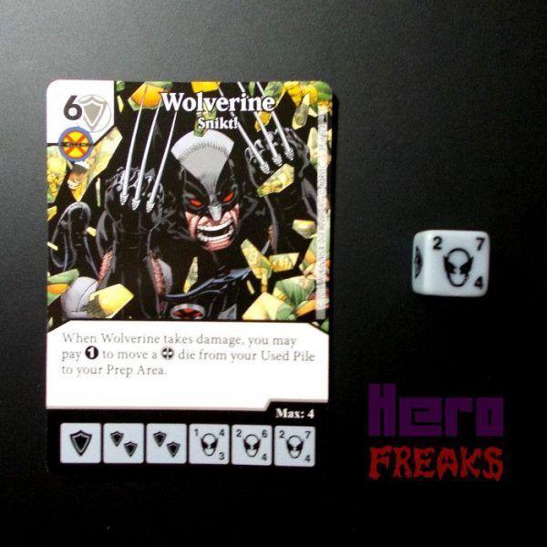 Dice Masters Marvel Deadpool - 039 Wolverine (C)