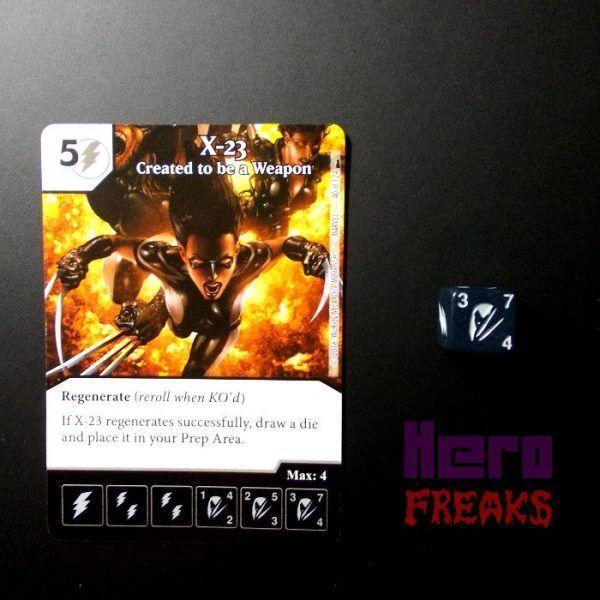 Dice Masters Marvel Deadpool - 040 X-23 (C)