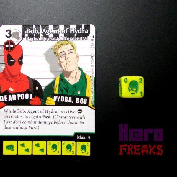Dice Masters Marvel Deadpool - 048 Bob, Agent of Hydra (U)