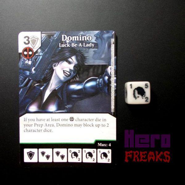 Dice Masters Marvel Deadpool - 052 Domino (U)