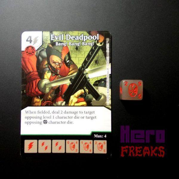 Dice Masters Marvel Deadpool - 054 Evil Deadpool (U)