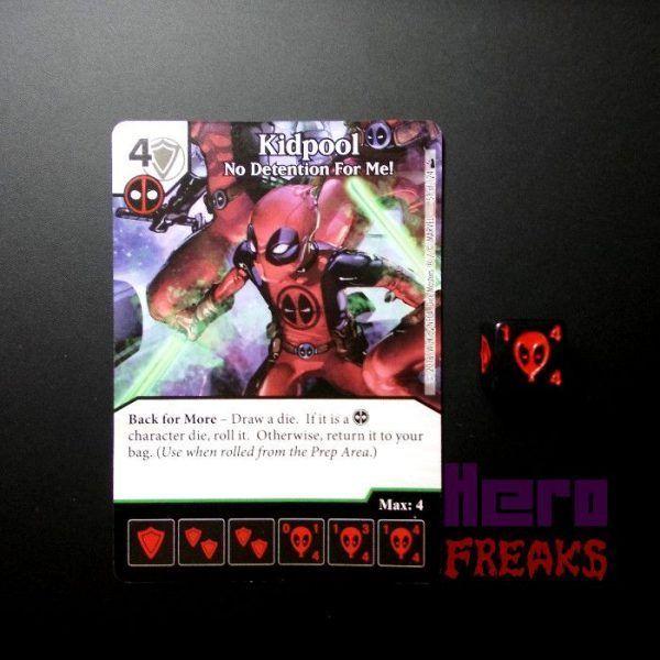 Dice Masters Marvel Deadpool - 059 Kidpool (U)