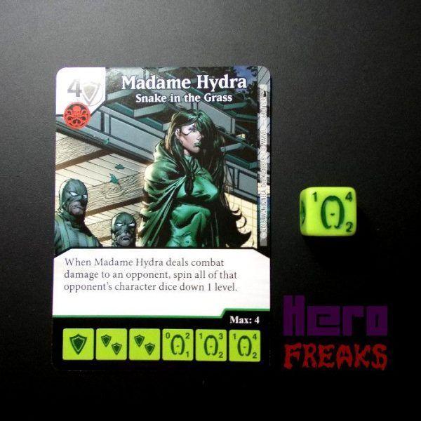 Dice Masters Marvel Deadpool - 064 Madame Hydra (U)