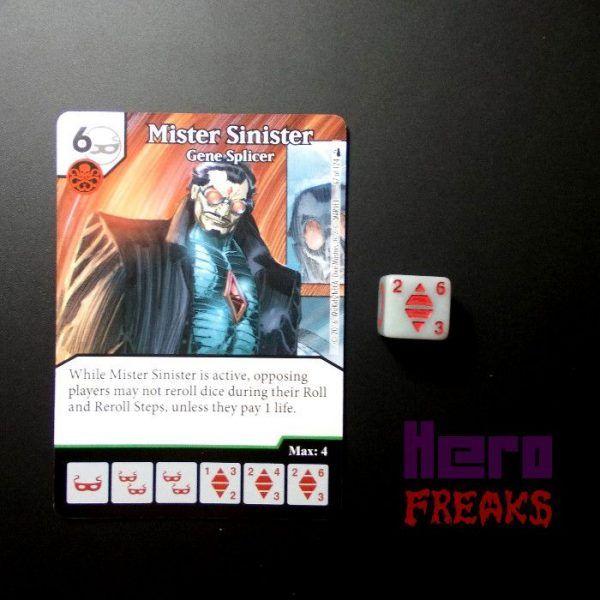 Dice Masters Marvel Deadpool - 067 Mister Sinister (U)