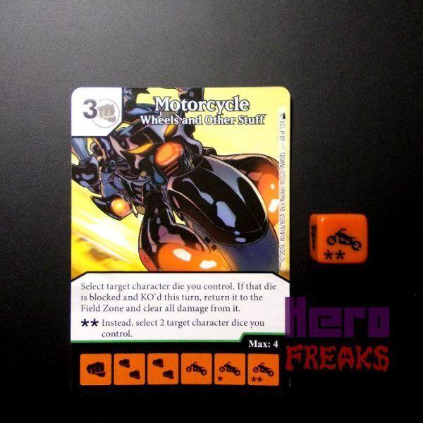 Dice Masters Marvel Deadpool - 068 Motorcycle (U)