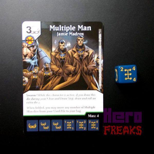 Dice Masters Marvel Deadpool - 069 Multiple Man (U)