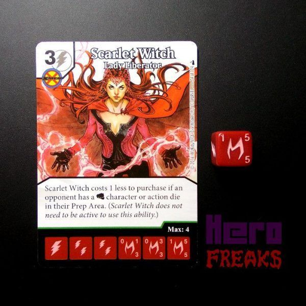Dice Masters Marvel Deadpool - 074 Scarlet Witch (U)
