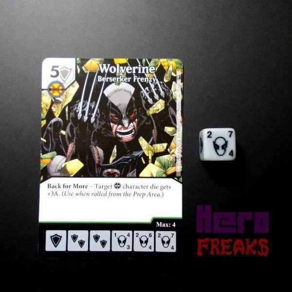 Dice Masters Marvel Deadpool - 078 Wolverine (U)