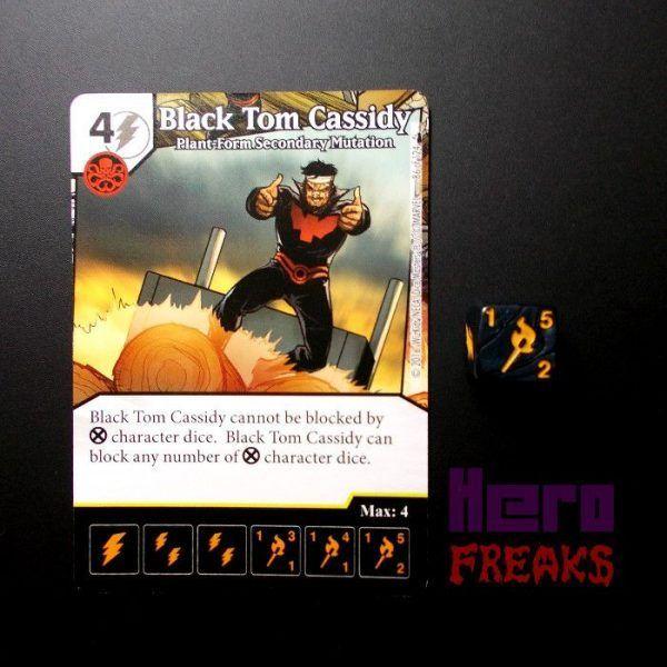 Dice Masters Marvel Deadpool - 086 Black Tom Cassidy (R)