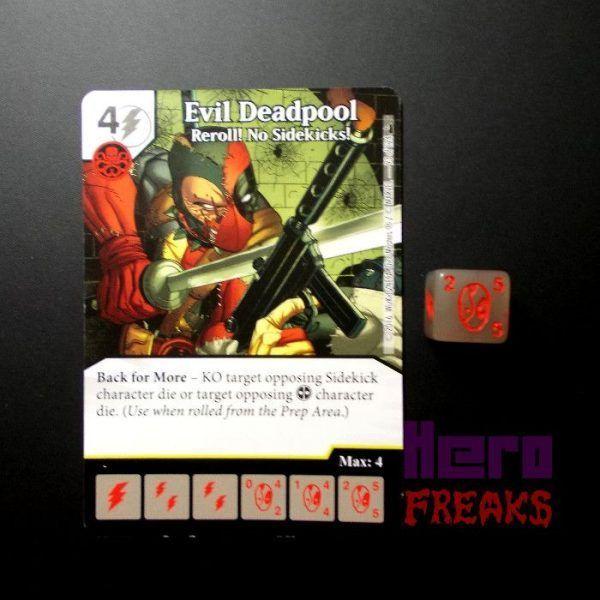 Dice Masters Marvel Deadpool - 092 Evil Deadpool (R)