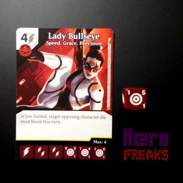 Dice Masters Marvel Deadpool - 099 Lady Bullseye (R)