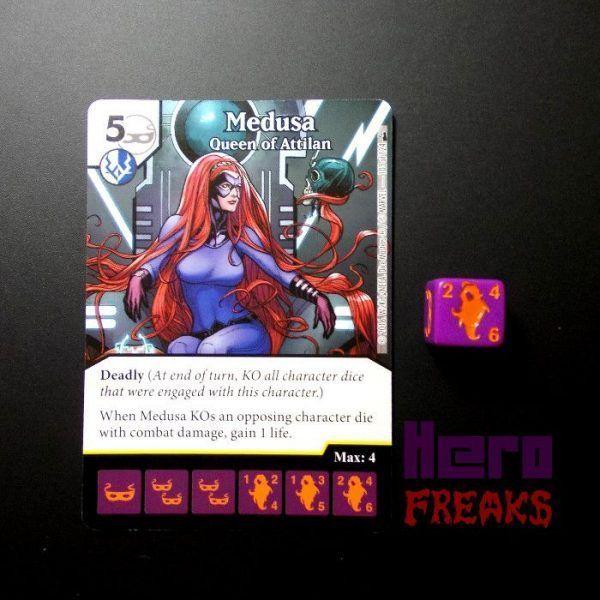 Dice Masters Marvel Deadpool - 103 Medusa (R)