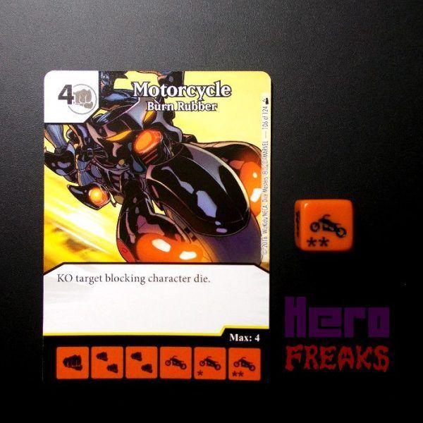 Dice Masters Marvel Deadpool - 106 Motorcycle (R)
