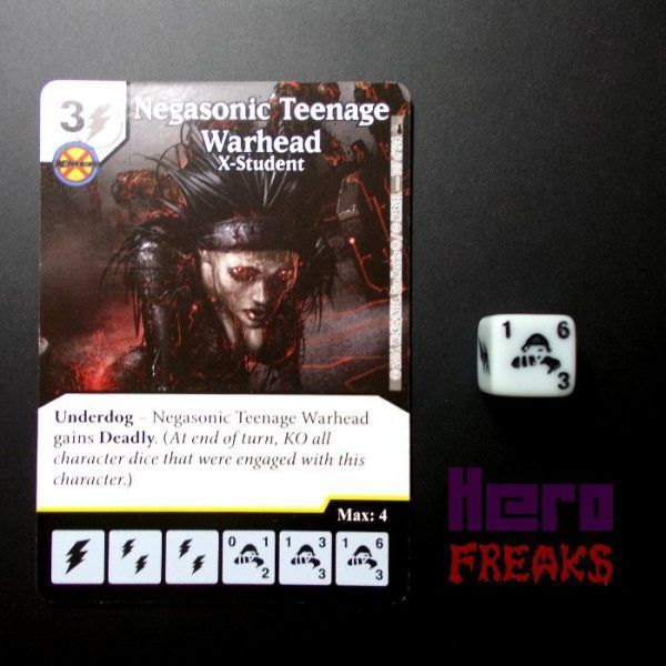 Dice Masters Marvel Deadpool - 107 Negasonic Teenage Warhead (R)