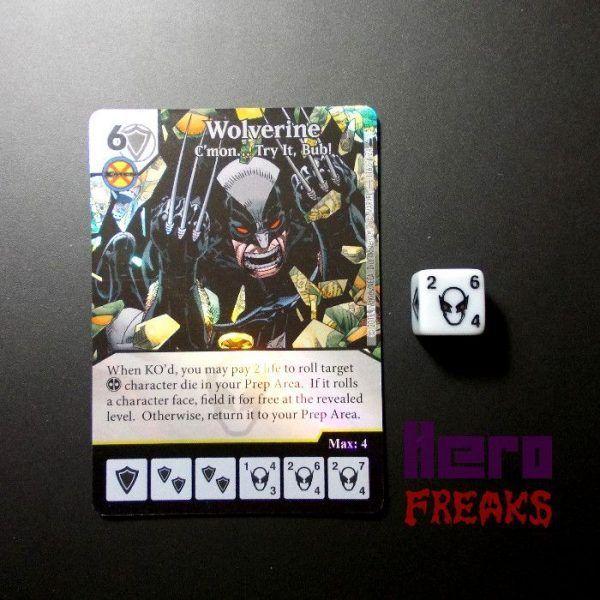 Dice Masters Marvel Deadpool - 116 Wolverine (R) FOIL
