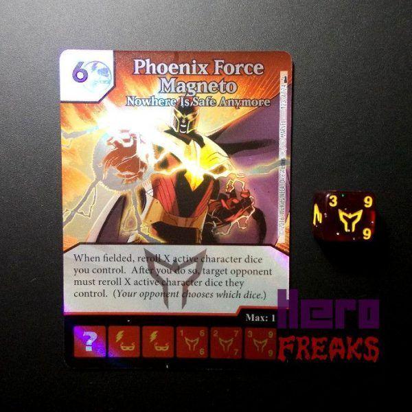 Dice Masters Marvel Deadpool - 123 Phoenix Force Magneto (SR)