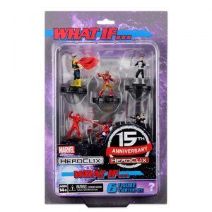 Heroclix Marvel 15th Anniversary What If Starter Set