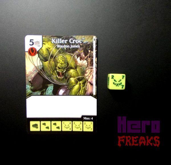 Dice Masters DC Batman - 021 Killer Croc (C)